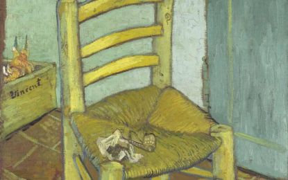 Studio ESSECI - VAN GOGH NELLA VILLA DEI CAPOLAVORI. La sedia di Vincent: ritratto di una struggente (disperata) umanità