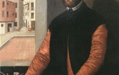 Studio ESSECI - Donato ai Musei Civici di Verona l'autoritratto del 1552 dell'artista Antonio Badile
